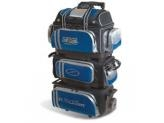 STORM 6-BALL ROLL THUNDER BAGS BLK/ BLUE/ SILVER