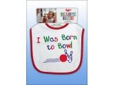 MASTER BORN TO BOWL BIB -bryndák
