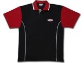 COLUMBIA 300 POLO SHIRT BLACK/ RED