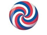 BRUNSWICK SPIRAL GLOW RED/ WHITE/ BLUE